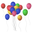 Festive Balloons EPS 10 vector image vector image