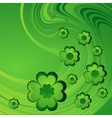 Happy Saint Patrick Day Background vector image