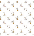 hookah pattern vector image vector image