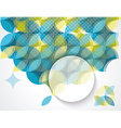 Pattern of geometric shapes Geometric background vector image vector image