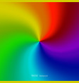 rainbow concept background abstract vector image vector image