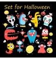 Set colored monsters vector image vector image