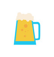 simple beer pitcher vector image vector image