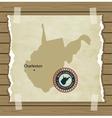 West Virginia vector image vector image
