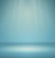 Blue Empty Scene vector image