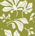 abstract plants seamless wallpaper vector image vector image