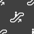 elevator Escalator Staircase icon sign Seamless vector image