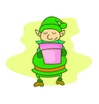 Elf style collection stock cartoon vector image vector image