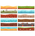 game background cartoon landscape stony icy vector image