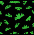 pattern with bat vector image vector image