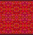 seamless mosaic pattern in octagon concept vector image vector image