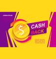 cash back advertise banner promotion refund