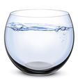Fish bowl vector image vector image