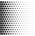 halftone dotted vintage retro gradients pattern vector image