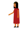 indian woman flat icon vector image vector image