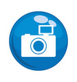 photographic camera button icon vector image