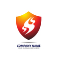 Security Shield Logo vector image vector image