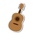 single guitarron icon vector image