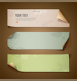 Vintage paper long collections vector | Price: 1 Credit (USD $1)