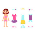 clothes for birthday vector image