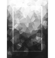 Abstract background gray frame Geometric vector image