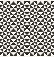 black and white abstract geometric quilt pattern vector image vector image