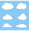 clouds collection eps 10 vector image