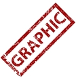 Graphic rubber stamp vector image vector image