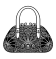 Ornate Women Bag vector image