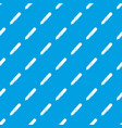 pipette pattern seamless blue vector image vector image