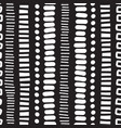 seamless pattern vertical lines dots doodles vector image vector image