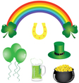 Shamrock Day vector image vector image