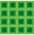 Squares seamless pattern green colors vector image vector image