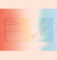 abstract modern background with gradient vector image vector image