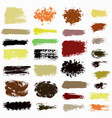 Brush strokes set 0015