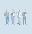 business career and job concept vector image