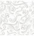 seamless swirl ornament vector image