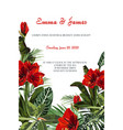 wedding marriage event invitation card template vector image vector image