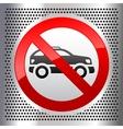 Symbols cars vector image