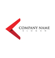 Arow Logo template vector image vector image