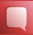 chat background red art creatuve vector image vector image