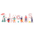 circus characters clowns and mimes comedy vector image