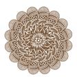 Henna Tattoo Mandala vector image vector image