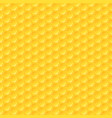 honeycomb background seamless hexagons pattern vector image