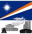 Marshall Islands vector image vector image