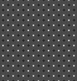 Monochrome pattern with black and white small vector image vector image