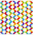 rainbow mosaic tiles abstract geometric vector image vector image