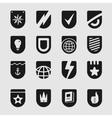 Set Emblems Shield