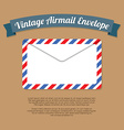 Vintage Mail Envelope vector image