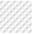 White decorative texture vector image